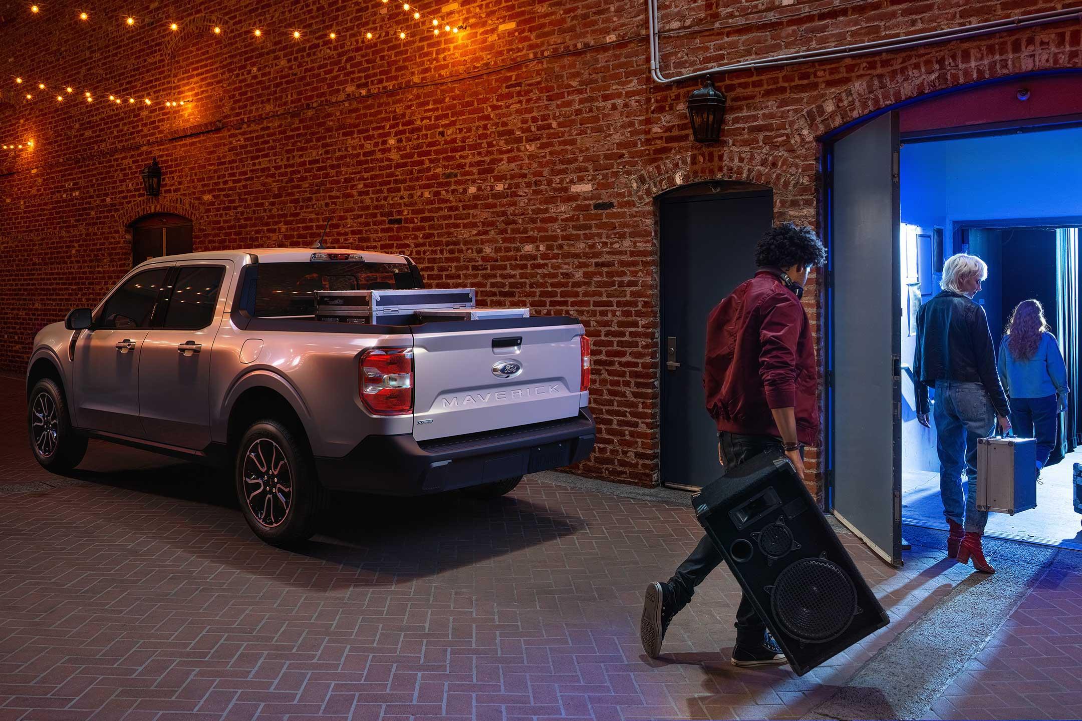 2021 Ford Maverick Storage