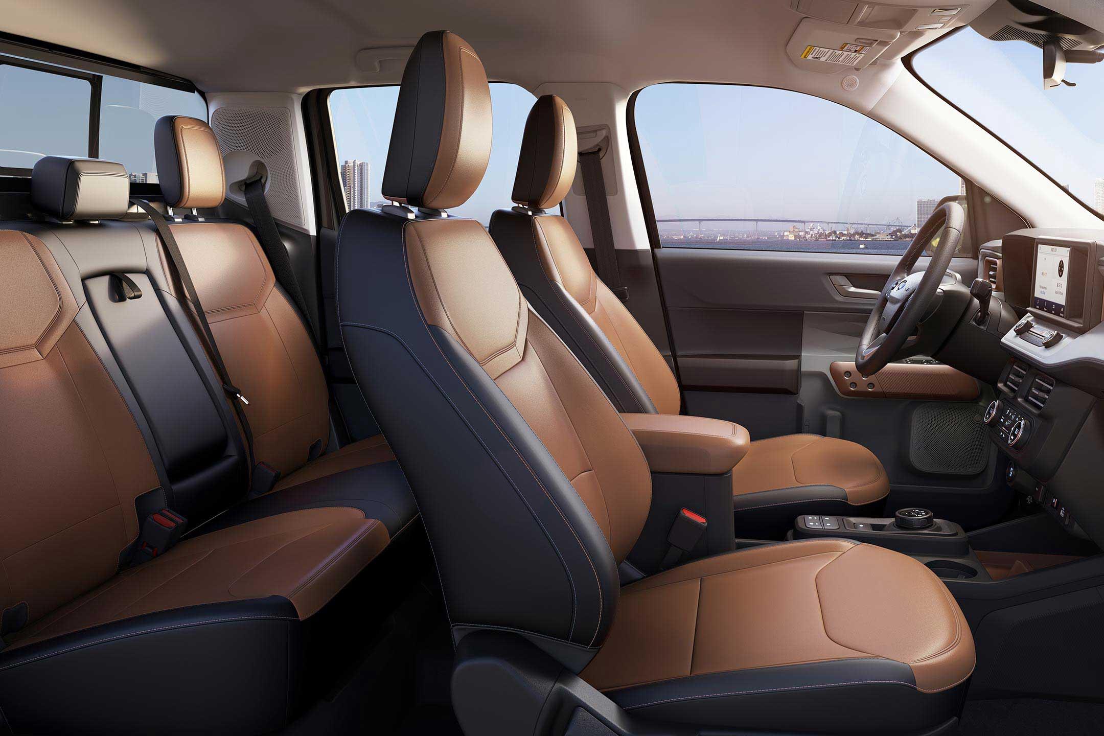 2021 Ford Maverick Interior