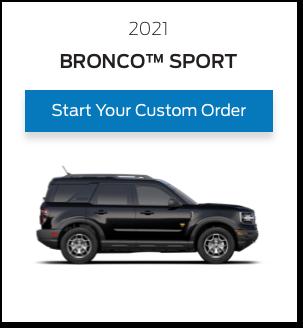 T3 Bronco Sport Card